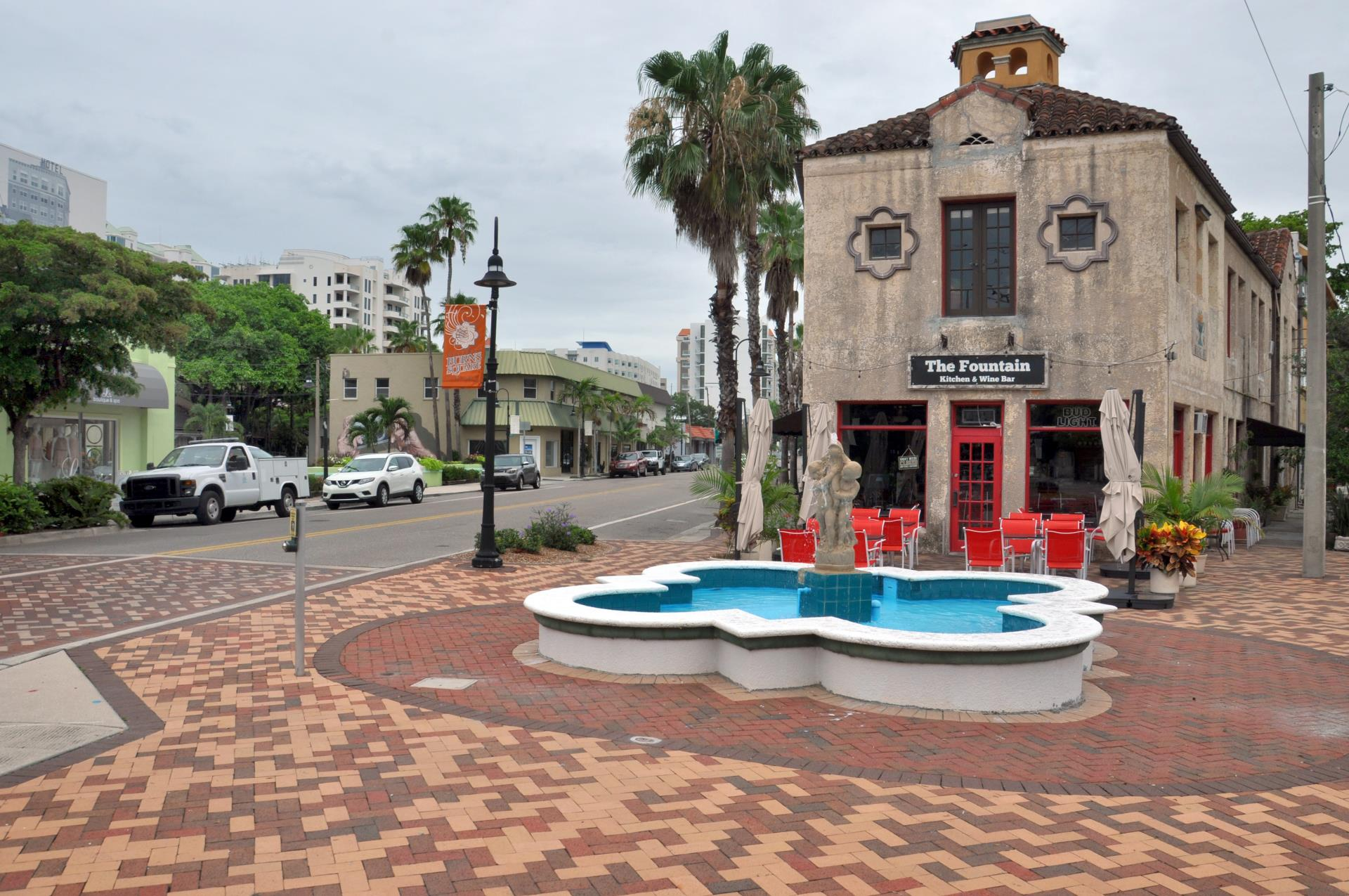 Little Five Points Fountain