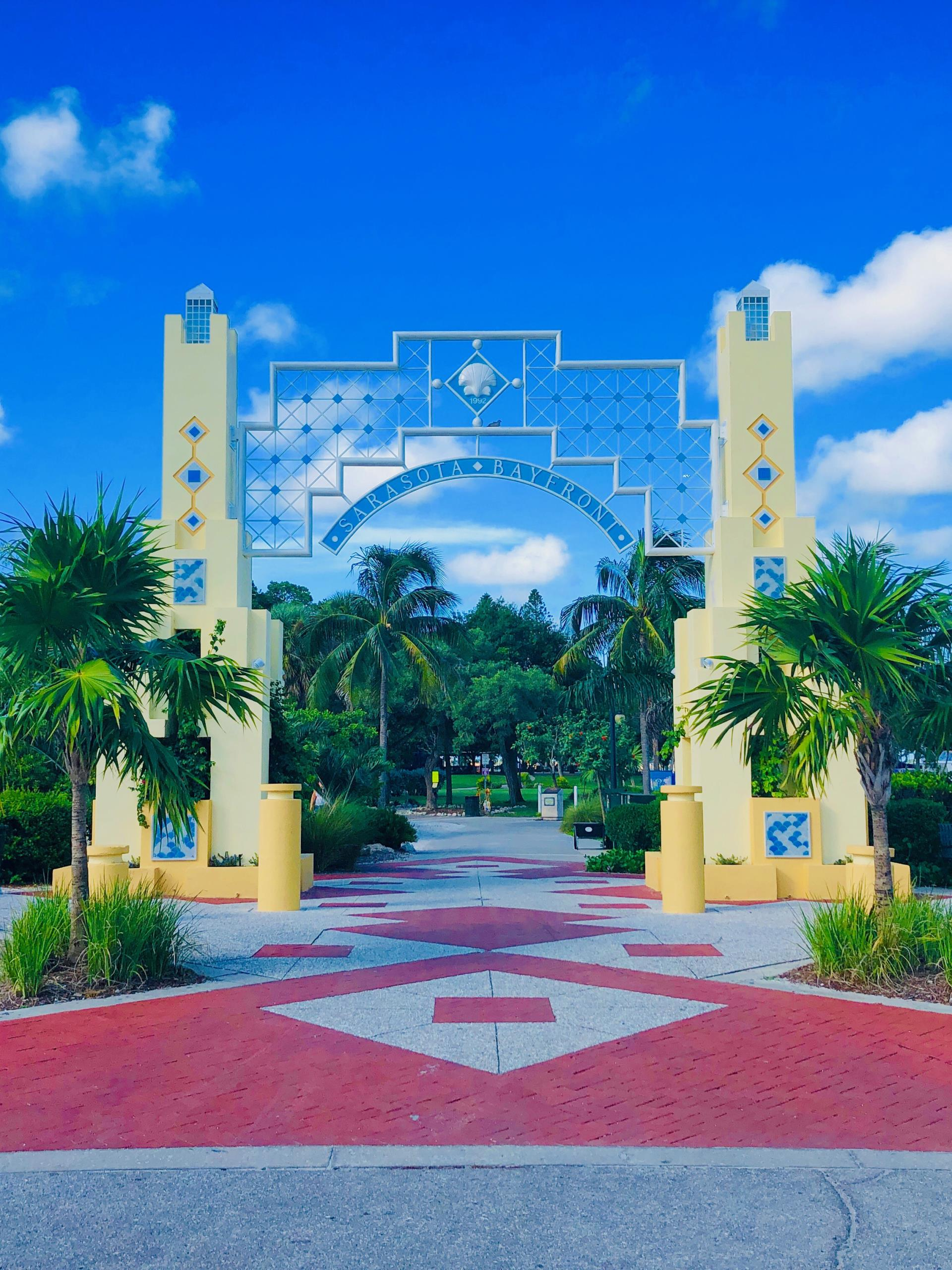 Bayfront Park Arch new paint and repairs