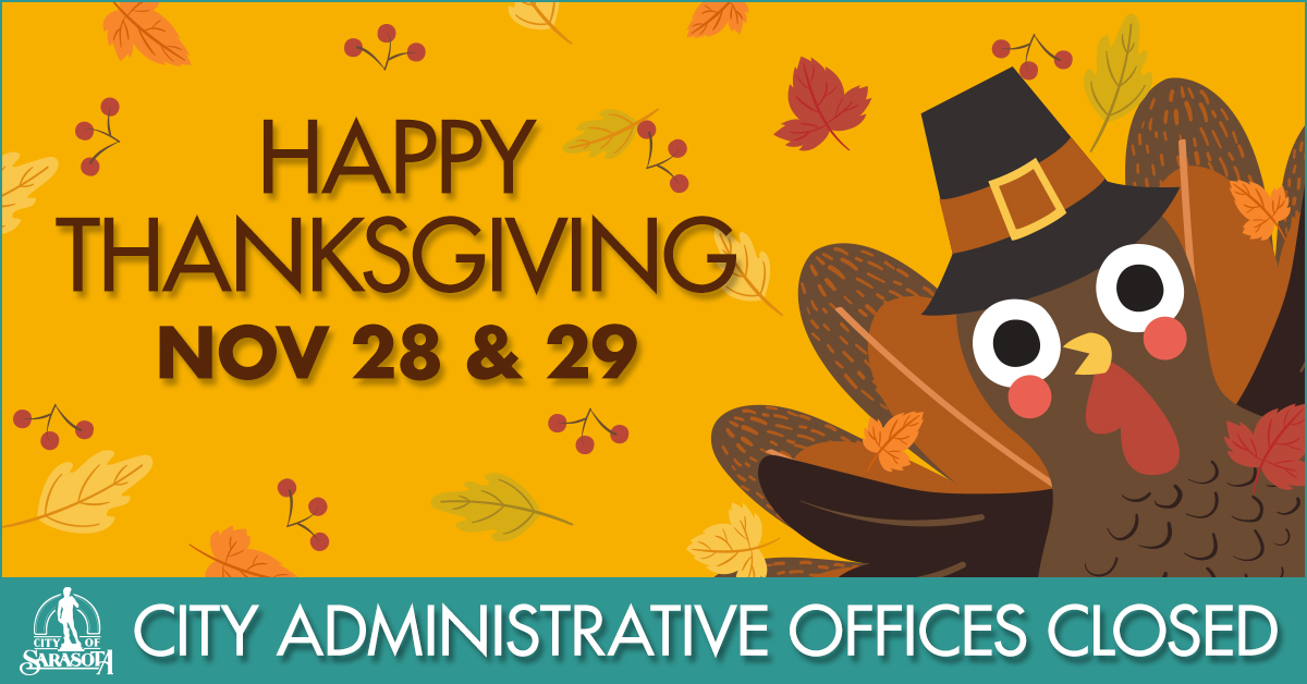 City offices closed for Thanksgiving holiday